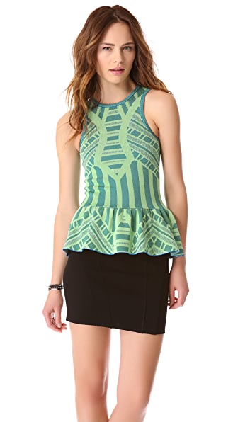 Torn by Ronny Kobo Nicole Mosaic Top