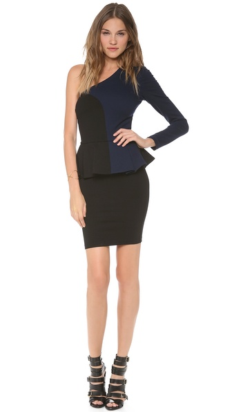 Torn by Ronny Kobo Anastasia One Sleeve Dress