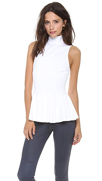 Torn by Ronny Kobo Heidi Peplum Top