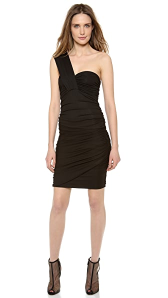 Torn by Ronny Kobo Stav One Shoulder Dress
