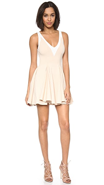 Torn by Ronny Kobo Hila Textured Dress