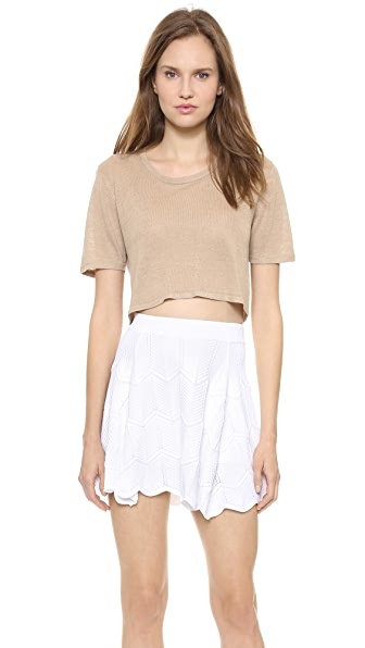 Torn by Ronny Kobo Nira Crop Tee
