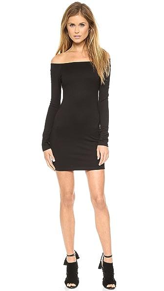 Shop Torn by Ronny Kobo online and buy Torn By Ronny Kobo Gola Ponte Dress Black dresses online