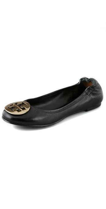 Tory Burch Nappa Leather Reva Ballet Flats