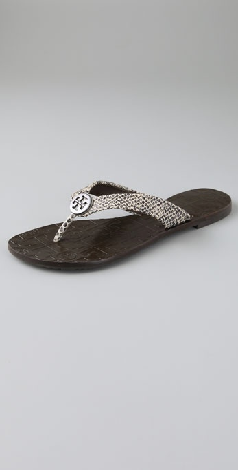 Tory Burch Thora Flat Thong Sandals