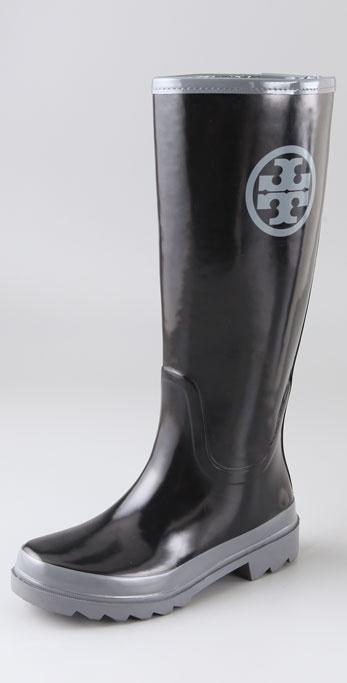 Tory Burch Tory Logo Rain Boots