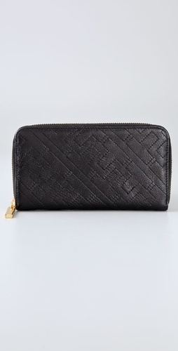 Tory Burch Norah Zip Continental Wallet