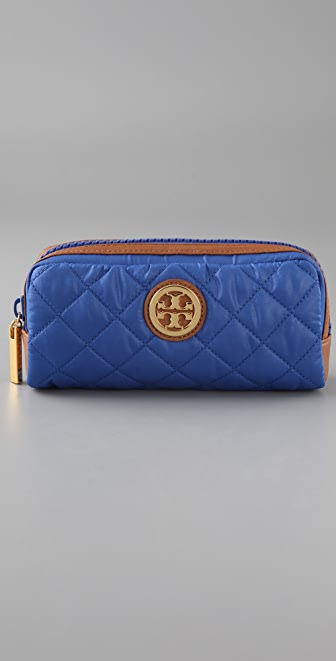 Tory Burch Alice Quilted Cosmetic Case