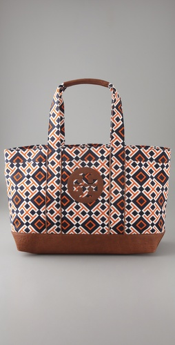 Tory Burch Printed Beach Tote