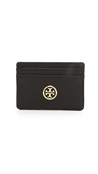 Tory Burch Saffiano Slim Card Case