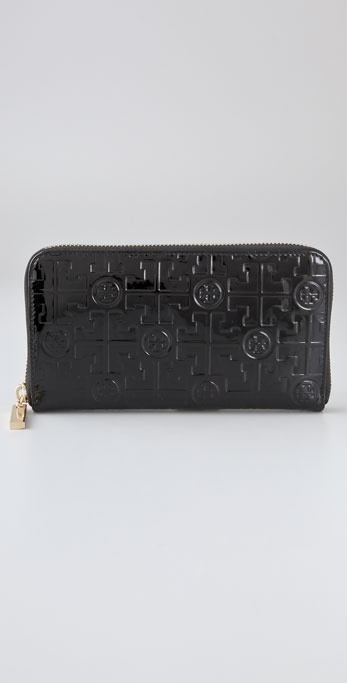 Tory Burch Embossed Continental Wallet