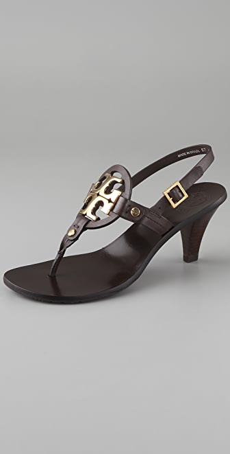Tory Burch Holly 2 Logo Thong Sandals