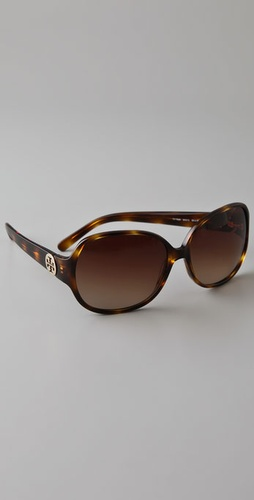 Tory Burch Logo Sunglasses
