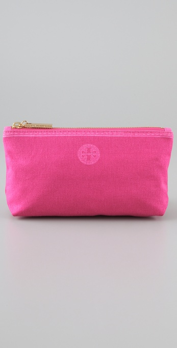 Tory Burch Trompe l'Oeil Small Cosmetic Case