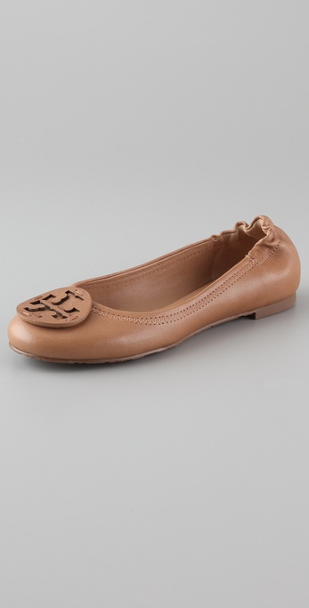 Tory Burch Reva Self Logo Flats
