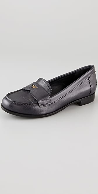 Tory Burch Pennie Low Heel Loafers