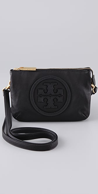 Tory Burch Stacked Logo Small Cross Body Bag