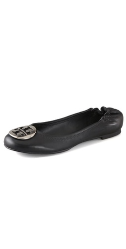 Tory Burch Reva Nappa Ballet Flats