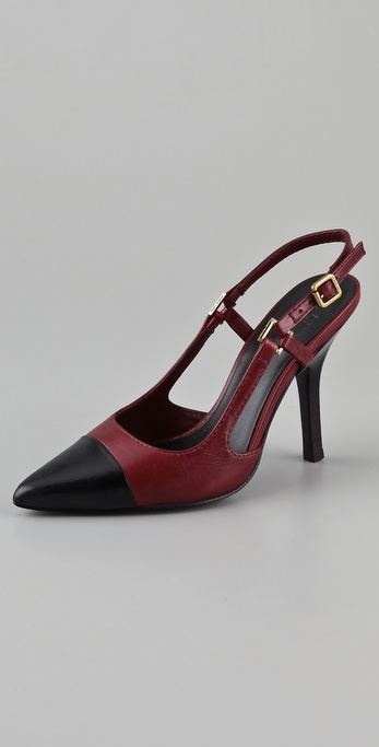 Tory Burch Felicity Sling Back Pumps