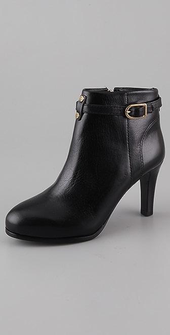 Tory Burch Patricia Mid Heel Booties