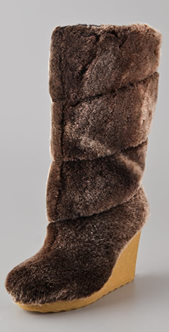 Tory Burch Kiki Wedge Boots