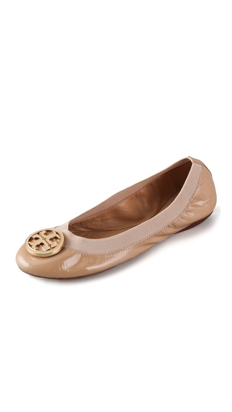 Tory Burch Caroline Patent Ballet Flats