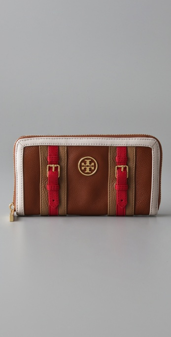 Tory Burch Ally Zip Continental Wallet