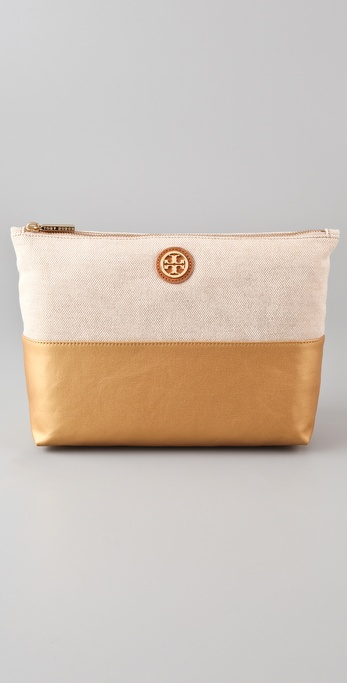 Tory Burch Large Idina Cosmetic Case