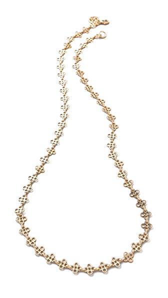 Tory burch mini clover necklace shopbop for Tory burch jewelry amazon