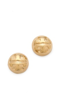 Tory Burch Small Domed Studs