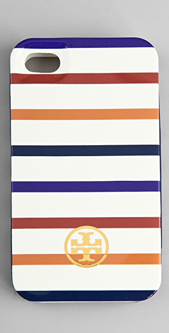 Tory Burch Striped iPhone Case