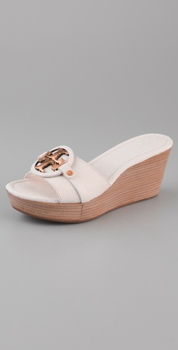 Tory Burch Patti 3 Mid Wedge Slide