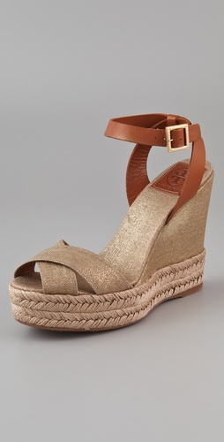 Tory Burch Fabian Wedge Espadrilles