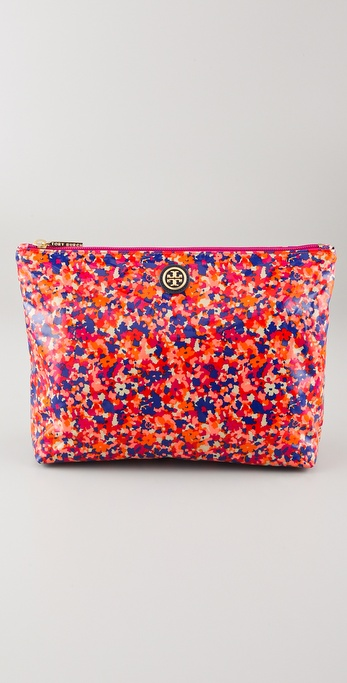 Tory Burch Large Slouchy Cosmetic Case