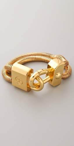 Tory Burch Lock Bracelet