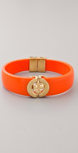 Tory Burch Logo Hinge Bracelet