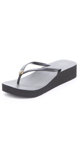 Tory Burch Wedge Thin Flip Flops at Shopbop / East Dane