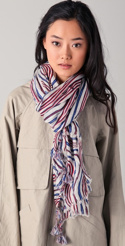 Tory Burch Marin Crinkle Scarf