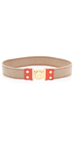 Tory Burch Stretch Interlocking Hip Belt