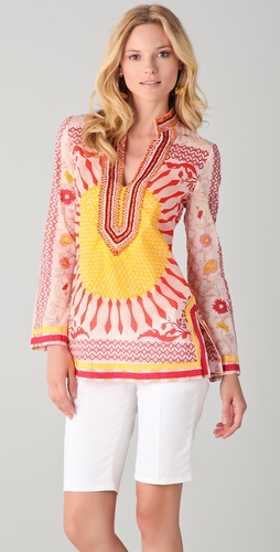 Tory Burch Print Tory Tunic