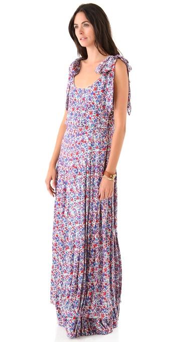 Tory Burch Gail Floral Maxi Dress