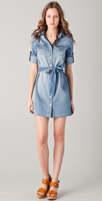 Tory Burch Brigitte Denim Dress