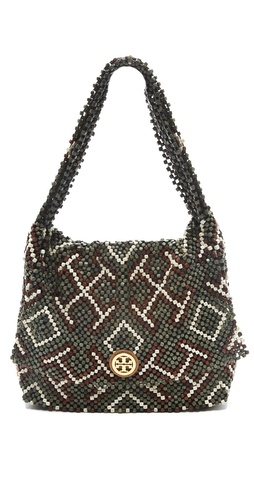 Tory Burch Wooden Bead Shoulder Bag