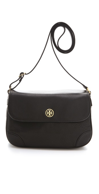 Tory Burch Robinson Triple Gusset Cross Body Bag
