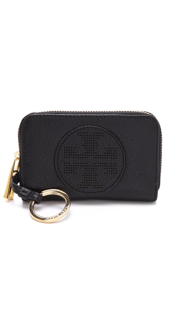 Tory Burch Kipp Zip Coin Wallet