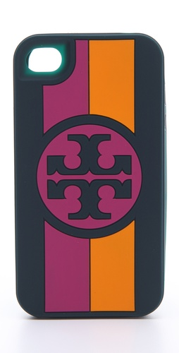 Tory Burch Roslyn Silicone iPhone Case