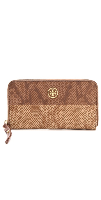 Tory Burch Farrah Zip Continental Wallet