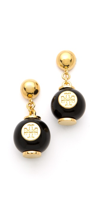 Tory Burch Perez Bead Dangle Earrings
