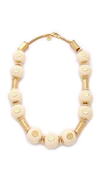 Tory Burch Perez Bead Necklace