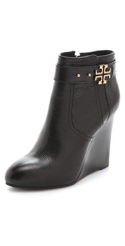 Tory Burch Elina Wedge Booties